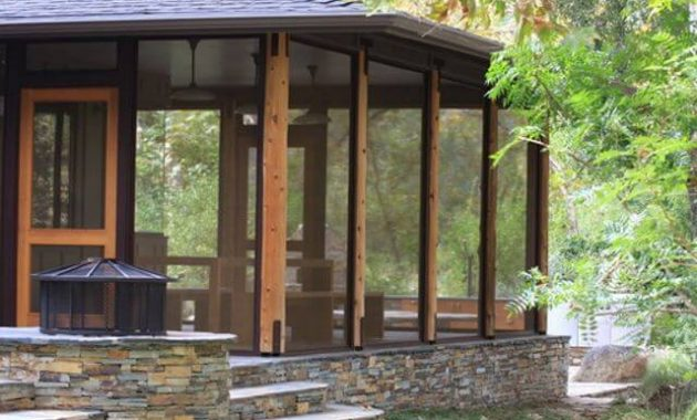 ENCLOSED OASIS FRONT PORCH ADDITION IDEAS