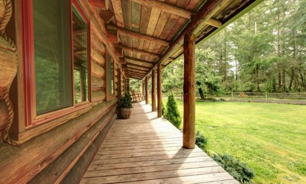 LONG GRAINED FRONT PORCH ADDITION IDEAS