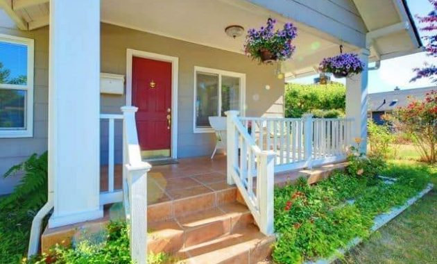 NATURAL COLOR FRONT PORCH ADDITION IDEAS
