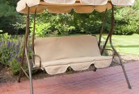 PATIO SWING WITH CANOPY METAL FRAME DESIGN IDEAS