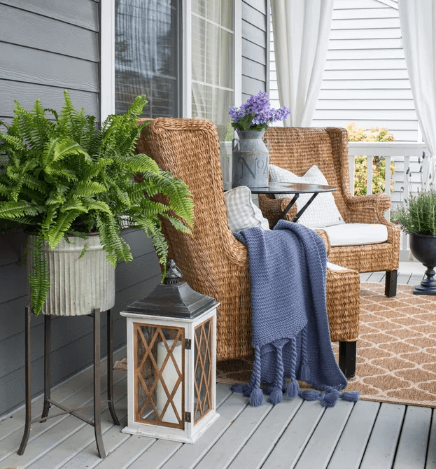 ADDITIONAL LIVING ROOM FOR SMALL FRONT PORCH DESIGN IDEAS