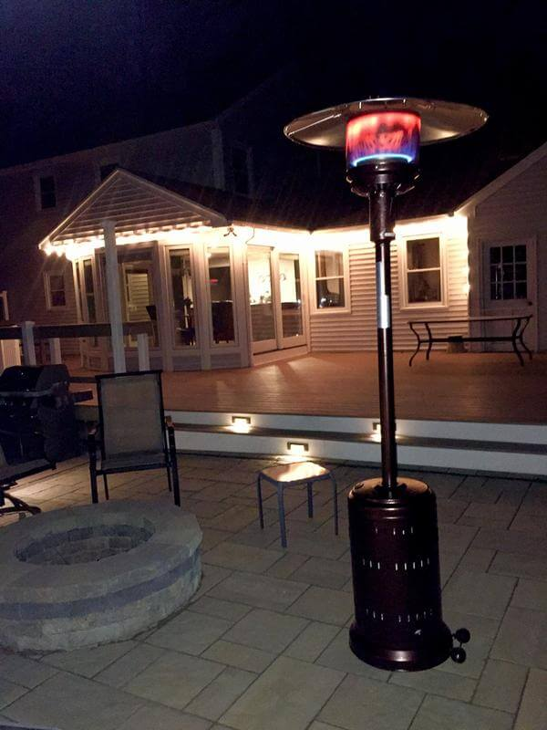 BEST BTU POWER FOR FIRE SENSE PATIO HEATER
