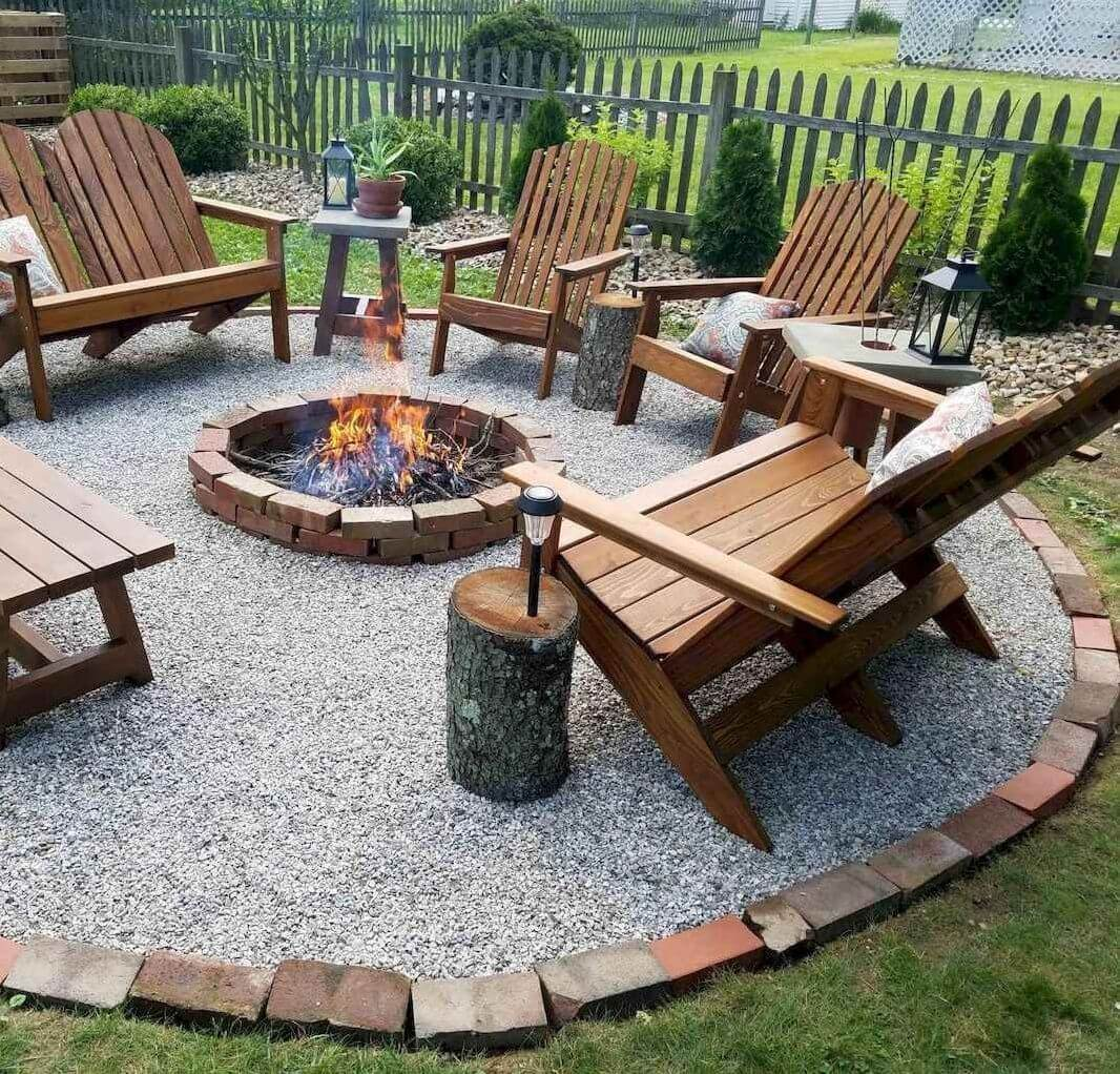DIY FIRE PIT IDEAS FOR PATIO ON A BUDGET
