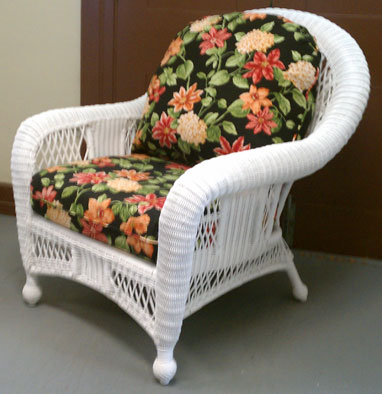 FLORAL PATTERN DEEP SEAT PATIO CUSHIONS
