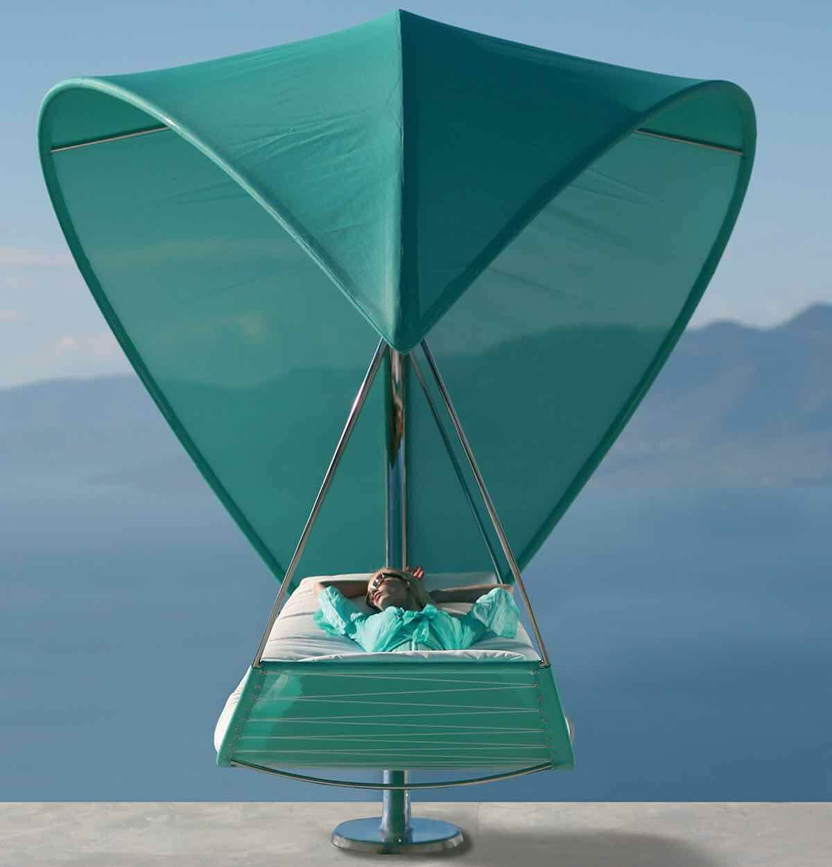 PATIO SET WITH UMBRELLA IDEAS WAVE HAMMOCK BY ERIK NYBERG AND GUSTAV STORM FOR ROYAL BOTANIA