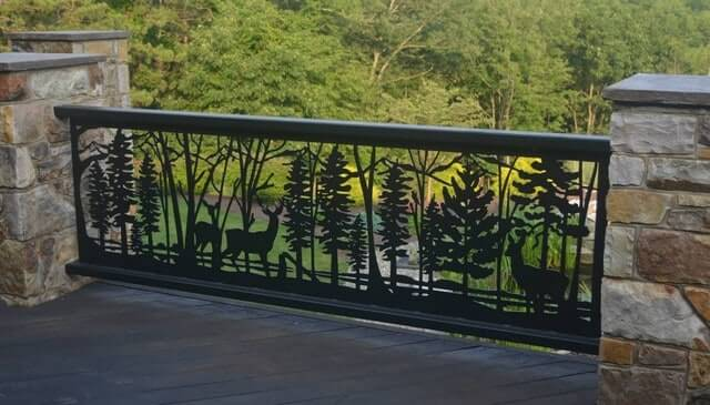PERSONAL TOUCH WITH NATURE FRONT PORCH RAILING IDEAS