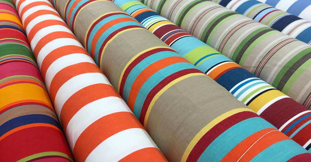 Patio Stripes patio sling chair replacement fabrics