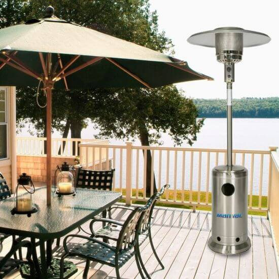LOOKING AT SAFETY ISSUES ABOUT NATURAL GAS PATIO HEATER