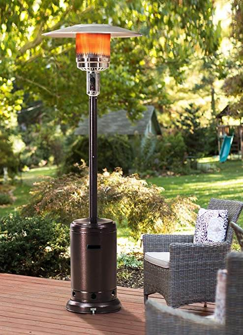 NATURAL GAS PATIO HEATER TYPES - FREESTANDING