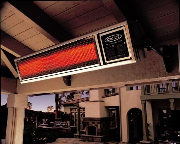 NATURAL GAS PATIO HEATER WALL MOUNTED