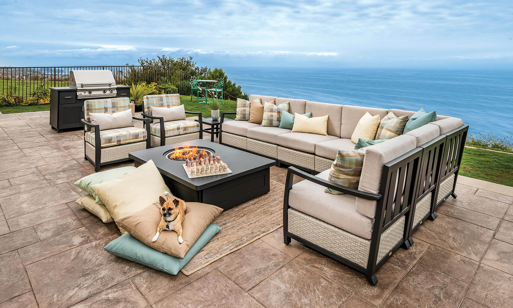 Pillow Heights Gas Fire Pits