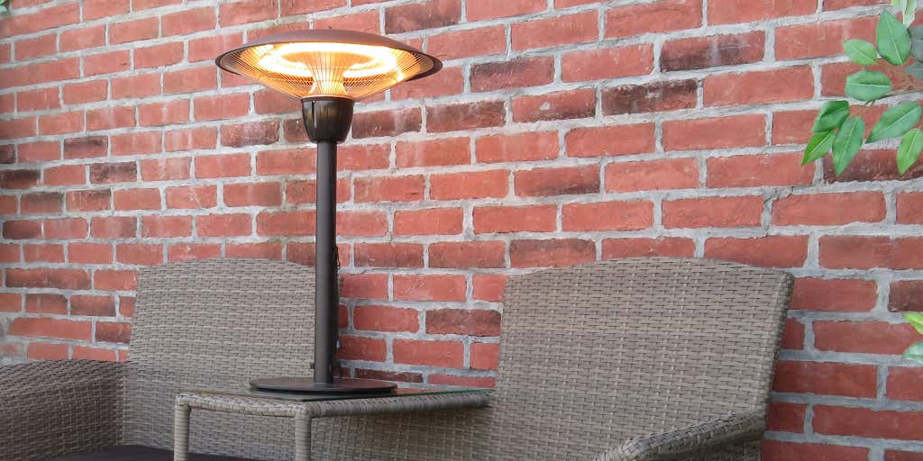 TABLE TOP NATURAL GAS PATIO HEATER