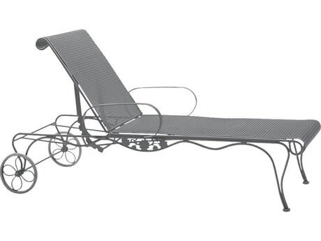 CHAISE LAUNGES WROUGHT IRON PATIO CHAIRS