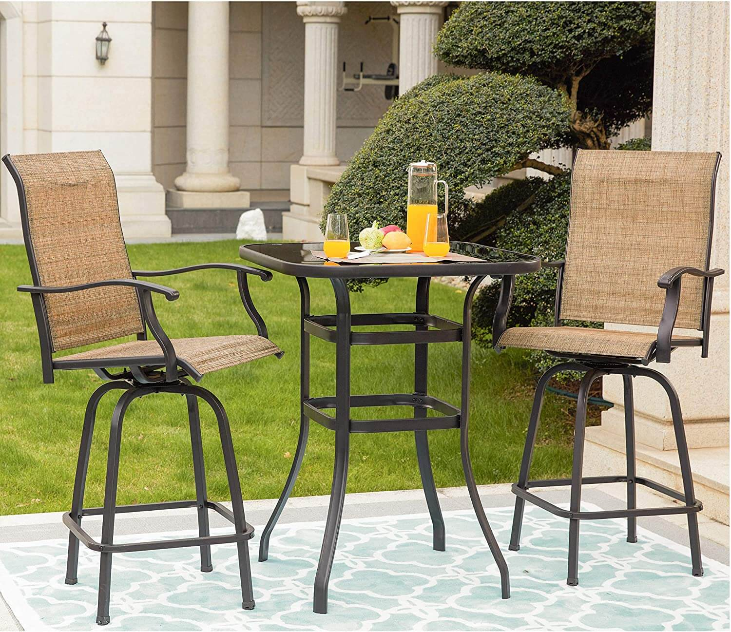 HOW TO CHOOSE BAR HEIGHT PATIO TABLE
