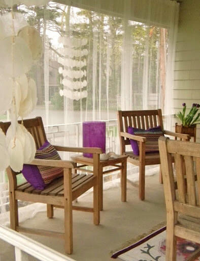 KEEP STYLISH MOSQUITO NETTING FOR PATIO