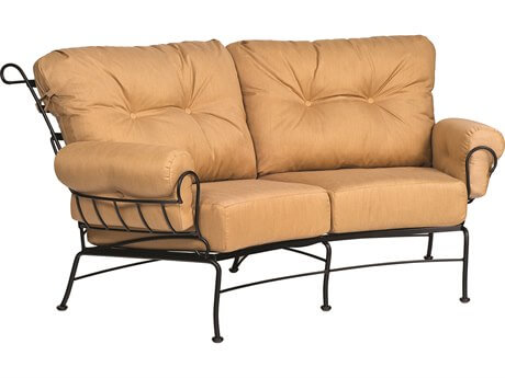 LOVESEAT WROUGHT IRON PATIO CHAIRS