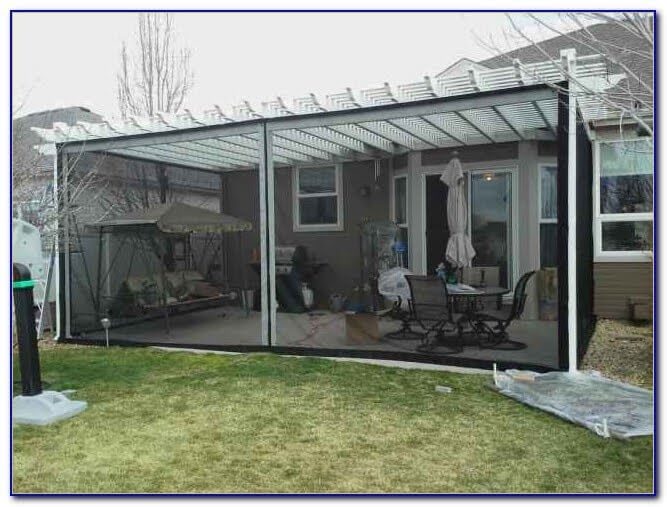 MOSQUITO NETTING FOR PATIO TIPS. CONSIDER THE MEASUREMENT
