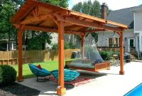 WOODEN FREE STANDING PATIO COVERS