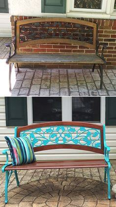 WROUGHT IRON PATIO CHAIRS COMBINE WITH WOODS