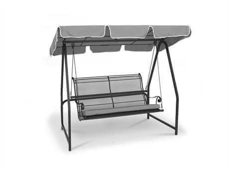 WROUGHT IRON PATIO CHAIRS WITH SWINGS
