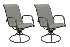 FORMAL DESIGN SWIVEL ROCKER PATIO CHAIRS FROM PATIO MASTER