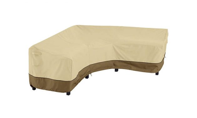 L-SHAPED COVERS WATERPROOF FOR CORNER SECTIONAL PATIO FURNITURE