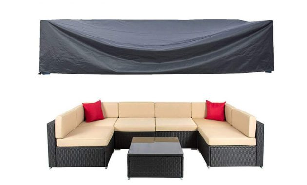 SECTIONAL OUTDOOR PATIO FURNITURE COVERS EXTRA LARGE