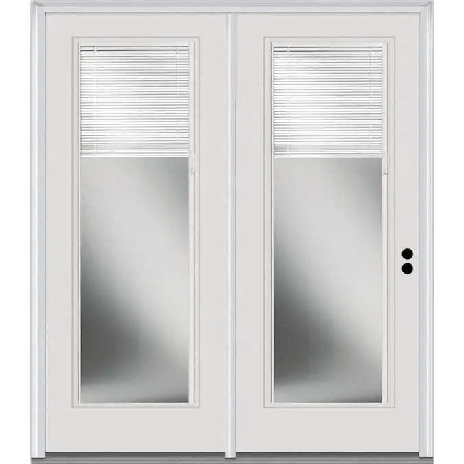 CUSTOMIZED SLIDING PATIO DOORS WITH BUILT IN PATENT BLINDS