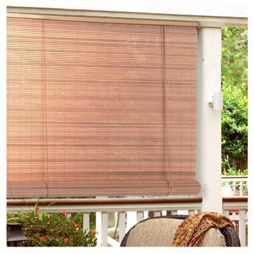 PVC ROLL UP PATIO SHADES