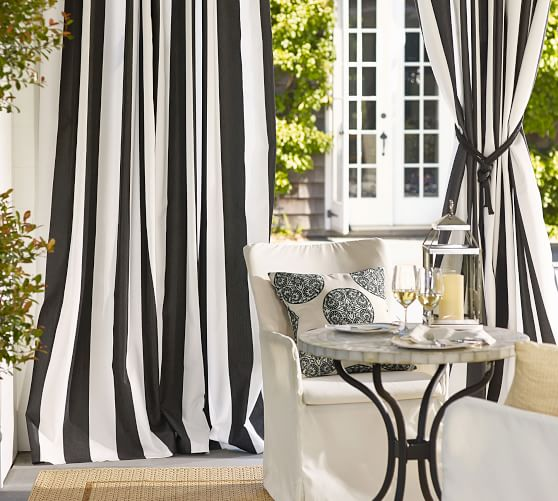 ACRYLIC OUTDOOR CURTAINS FOR PATIO