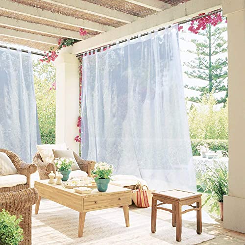 LIGHT OUTDOOR CURTAINS FOR PATIO