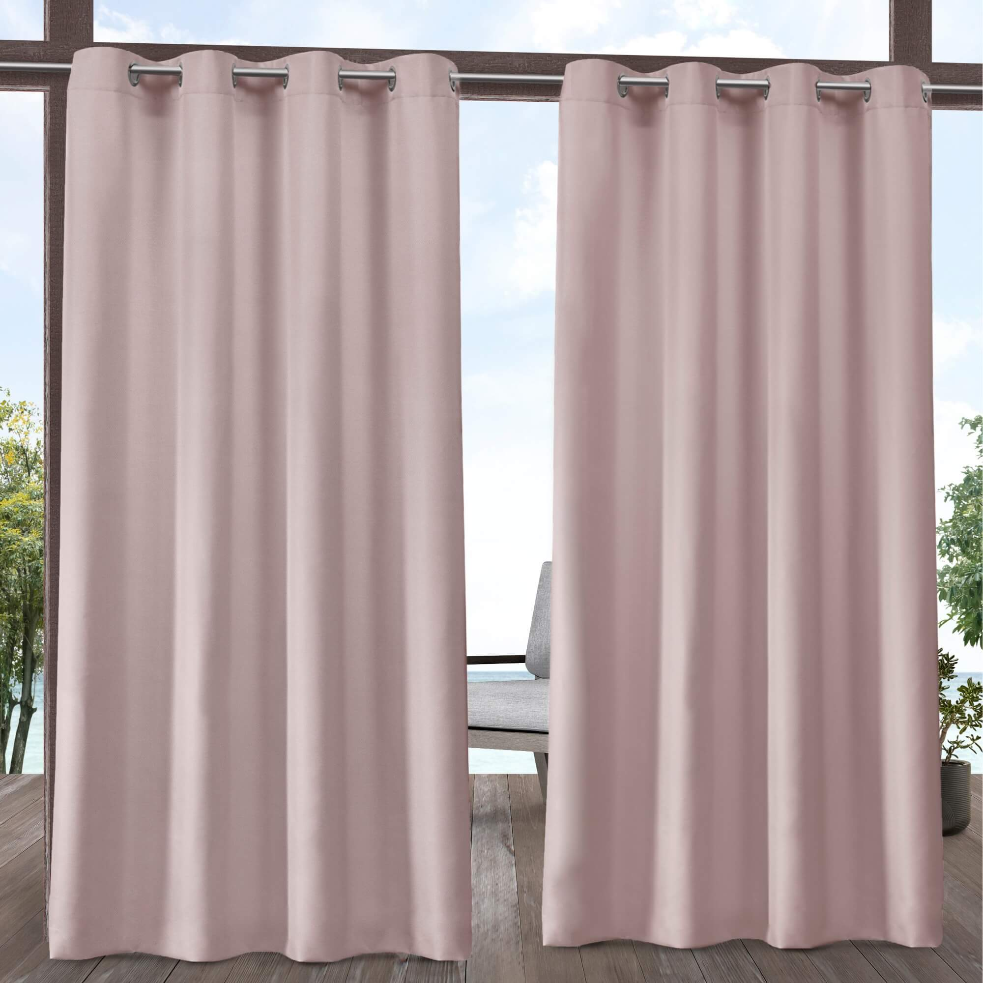 LUXURY AND PRIVACY OUTDOOR CURTAINS FOR PATIO