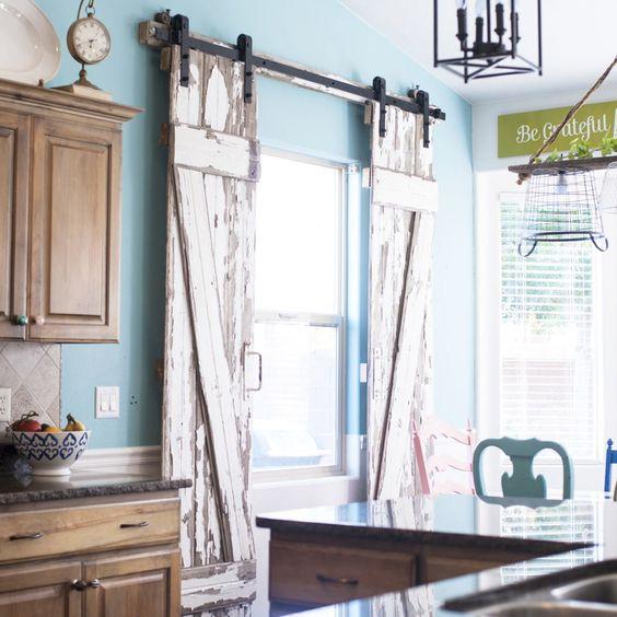 PATIO DOOR WINDOW TREATMENTS IDEAS WITH FARMHOUSE SLIDING DOORS