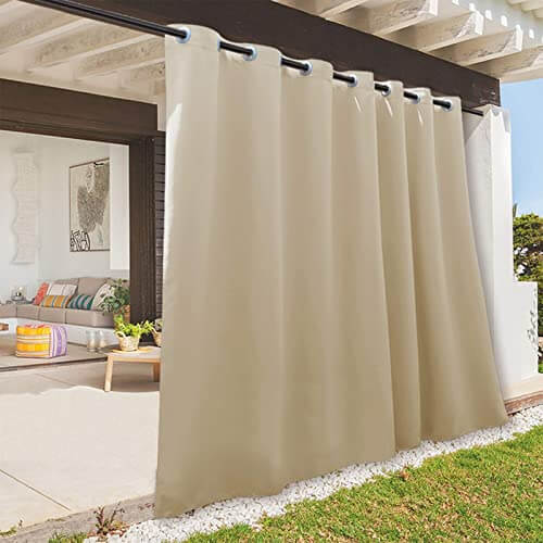 WEATHER PROTECTION OUTDOOR CURTAINS FOR PATIO