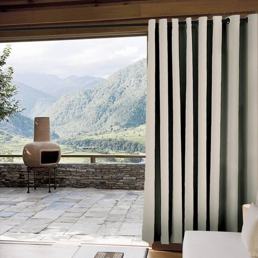 WIDE OUTDOOR CURTAINS FOR PATIO